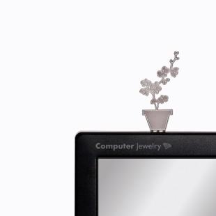 Decoración para pantallas - SCREEN JEWELRY ORQUÍDEA