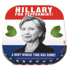 Mentas - HILLARY FOR PEPPERMINT