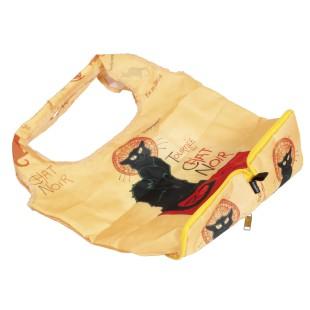 Bolsa plegable - BAG IN BAG CHAT NOIR