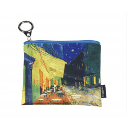 MONEDERO - MINI PURSE WITH ZIP VAN GOGH CAFÈ DE NUIT