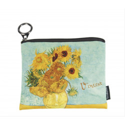 MONEDERO - MINI PURSE WITH ZIP VAN GOGH GIRASOLES