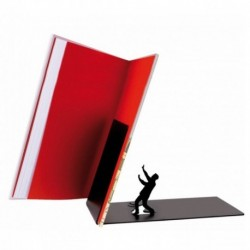 Sujetalibros - FALLING BOOKEND DEFENSIVE MAN
