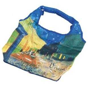 Bolsa plegable - BAG IN BAG WITH ZIP,VAN GOGH CAFÉ DE NUIT