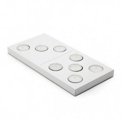 Portavelas - DOMINO CANDLE HOLDER
