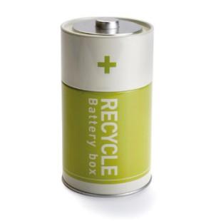 Bote para reciclado de baterías - BATTERY BOX