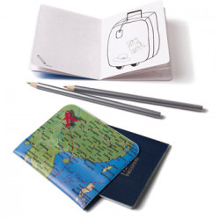 Funda de pasaporte - MAPA - PASAPORTE INFANTIL - CHILDRENS PASSPORT
