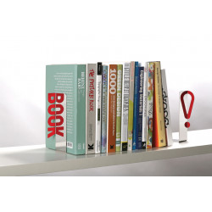 Sujetalibros - SUJETA LIBROS REFLEJANTE - REFLECTIVE BOOKEND