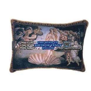 Cojín con música - NACIMIENTO DE VENUS (BOTTICCELLI) MÚSICA: PRETTY WOMAN