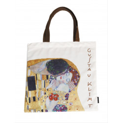 Bolsa de compra - ART-SHOPPING-BAG  GUSTAV KLIMT KISS