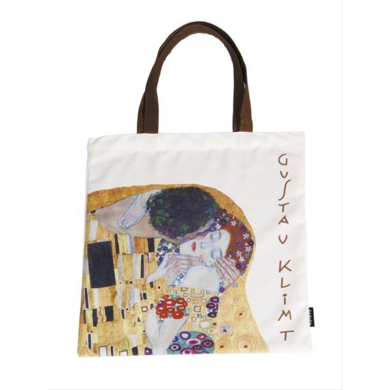 Bolsa de compra - ART-SHOPPING-BAG  GUSTAV KLIMT KISS