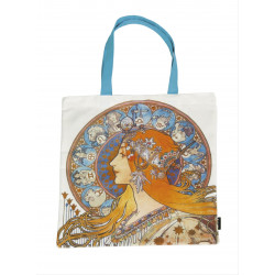 Bolsa de compra - ART-SHOPPING-BAG ART NOUVEAU ZODIAC