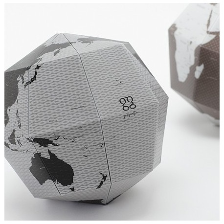 Artículo para montar - 3D SECTIONAL GLOBE EARTH'S AXIS, 23.4 DEGREES