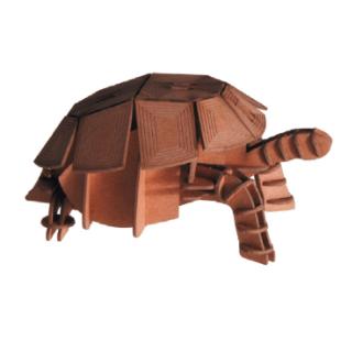 Artículo para montar - 3-D PAPER MODEL TURTLE TORTUGA