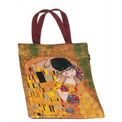 Bolsa con asas - SHOPPING BAG COTTON KLIMT EL BESO