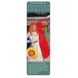 Marcapáginas - ART BOOKMARK EXPRESSIONISTS EDVARD MUNCH GIRLS ON THE BRIDGE