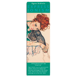 Marcapáginas - ART BOOKMARK EXPRESSIONISTS EGON SCHIELE SITTING WOMEN
