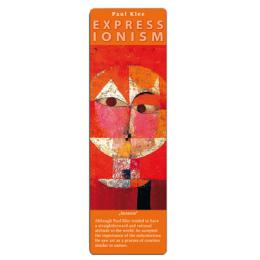 Marcapáginas - ART BOOKMARK EXPRESSIONISTS PAUL KLEE SENECIO