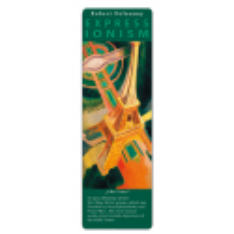 Marcapáginas - ART BOOKMARK EXPRESSIONISTS ROBERT DELAUNAY EIFFEL TOWER