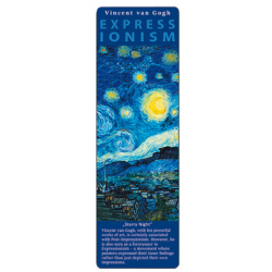 Marcapáginas - ART BOOKMARK EXPRESSIONISTS VAN GOGH STARRY NIGHT
