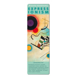 Marcapáginas - ART BOOKMARK EXPRESSIONISTS WASSILY KANDINSKY KOMPOSITION VIII