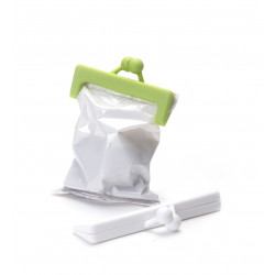 Pinzas cierra bolsas - CLIPURSE (2 UNIDADES) BLANCO-VERDE