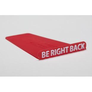 Marcapáginas - PHRASER: BE RIGHT BACK