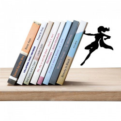 Sujetalibros - SUPERGAL  BOOKEND