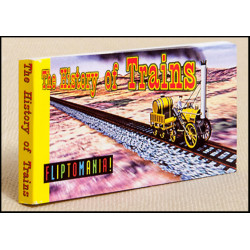 Libro - MINILIBRO DIAPORAMA - THE HISTORY OF TRAINS