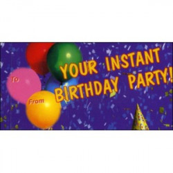 Libro - MINILIBRO DIAPORAMA - YOUR INSTANT BIRTHDAY PARTY!