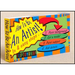 Libro - MINILIBRO DIAPORAMA -HOW TO BE AN ARTIST