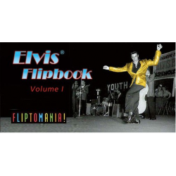 Libro - MINILIBRO DIAPORAMA - ELVIS FLIPBOOK, VOL.1