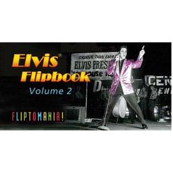 Libro - MINILIBRO DIAPORAMA - ELVIS FLIPBOOK, VOL.2