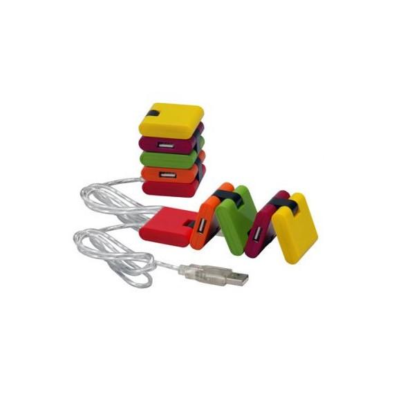 Conector USB - CR HUB CON 4 CONECTORES - PUERTO - 20X4CM - CR024