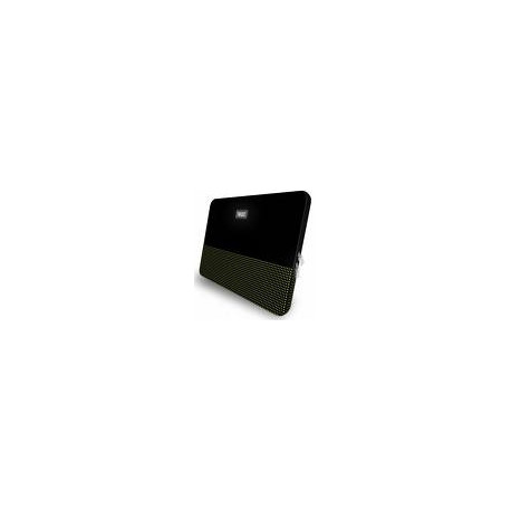 "Funda ordenador portátil - FONTANA - 15.4 "" - BLACK / GREEN - 40 X 31.5 X"