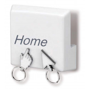 Colgador de llaves - HOME KEY RACK - PORTA LLAVES MAGNETICO P/ EL HO