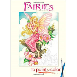 Cuaderno para colorear - FAIRIES TO PAINT OR COLOR