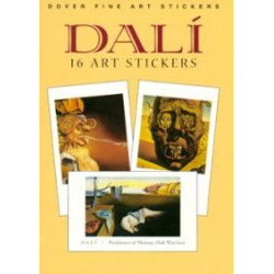 Pegatinas - DALI: 16 ART STICKERS