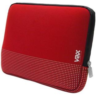 "Funda ordenador portátil - TIBIDABO - RED / SILVER - 7"" X 10""  - 28.4 X 20"
