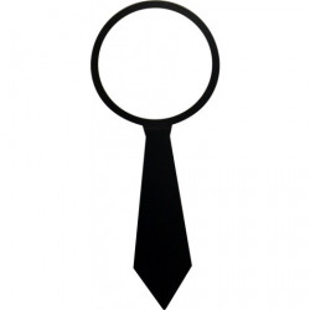 Lámpara-accesorios - CORBATA MR. P. ONE MAN SHY BLACK TIE ADORNO PARA LÁMPARA