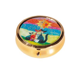 Pastillero - PILL-BOX LARGE ROUND WACHTMEISTER MOMENTI DI FELICITA