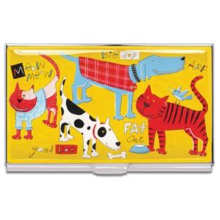 Tarjetero - CATS & DOGS