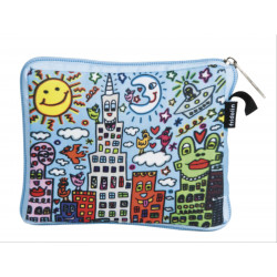 Bolsa plegable - BAG IN BAG WITH ZIP JAMES RIZZI MY NEW YORK