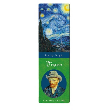 Marcapáginas - VAN GOGH: STARRY NIGHT