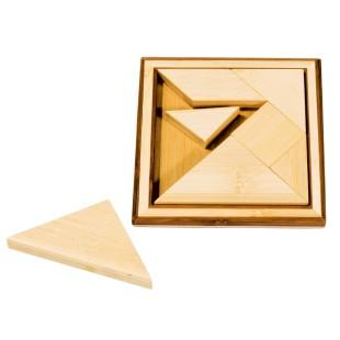 Puzzle - PUZZLE DE BAMBÚ TANGRAM