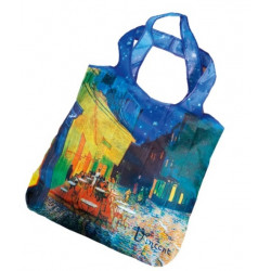 Bolsa plegable - BAG IN BAG PEQUEÑA. VAN GOGH: CAFE DE NUIT