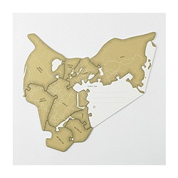 Tarjeta - GREETING CARD PIECES OF PANGAEA