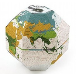 Artículo para montar - VOYAGE FOLDABLE GLOBE EARTH IN THE POCKET CLIMATE