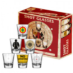 Vasos de chupito - BANG BANG SHOT GLASSES 6 UDS.