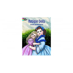 Cuaderno para colorear - ANTIQUE DOLLS