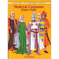 Libro - MEDIEVAL COSTUMES PAPER DOLLS (TOM TIERNEY)
